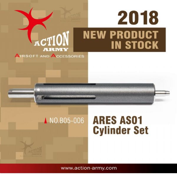 Action Army Teflon Cylinder Kit for Airsoft Ares Striker AS01 - Geniestuff.co.uk